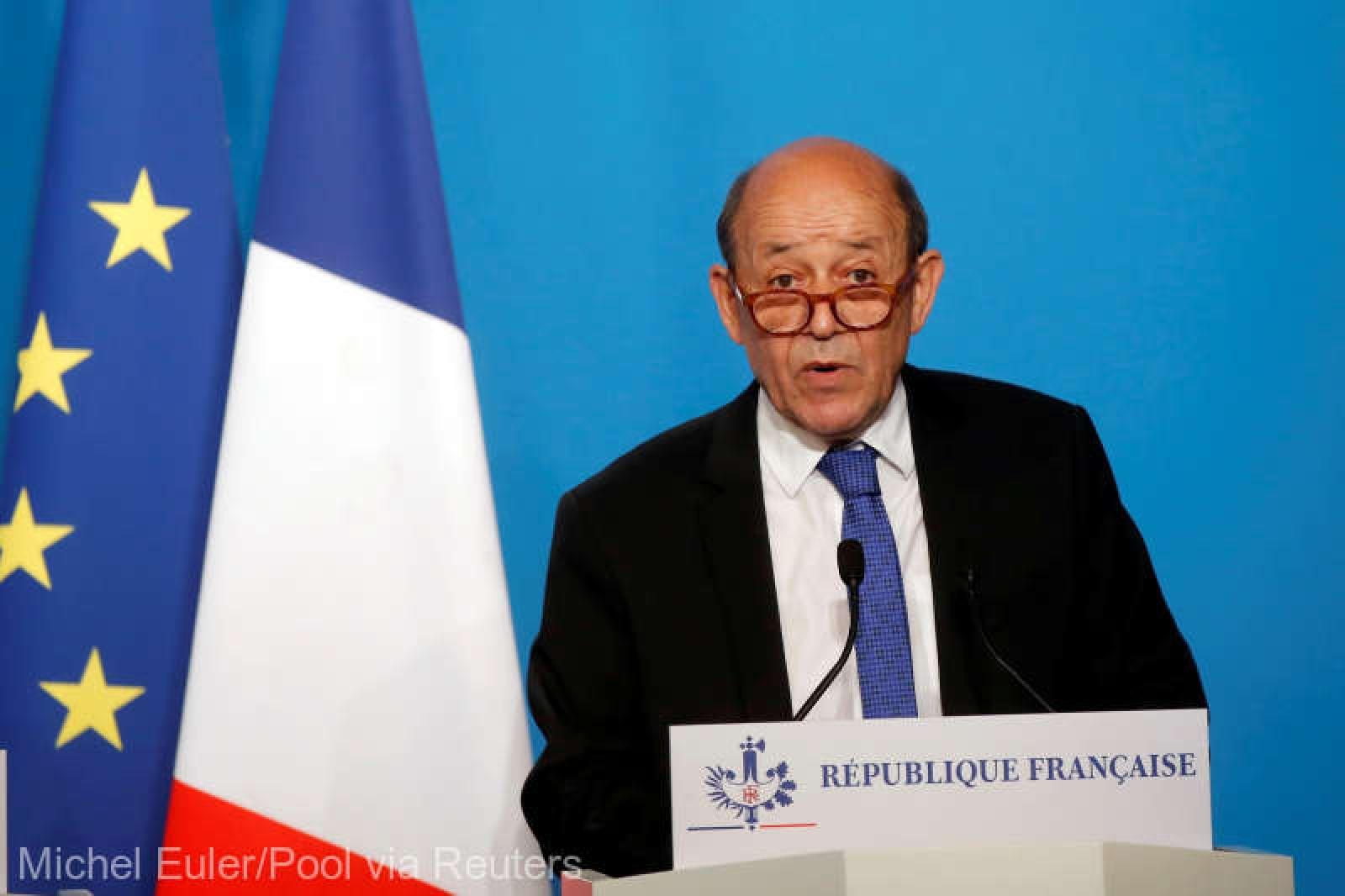 """Şeful diplomaţiei franceze: """"În cazul unui nou atac chimic în Siria, riposta va fi identică"""""""