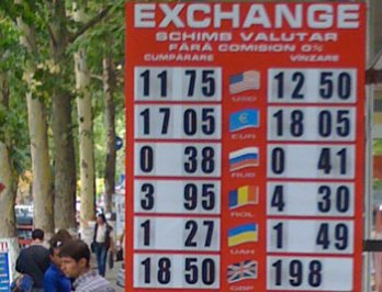 curs valutar azi moldova