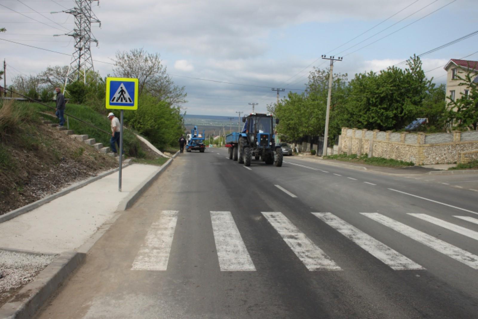 2,6 km de drum, în patru ani: Reparația centurii de ocolire a municipiului Cahul a luat de două ori mai mult timp