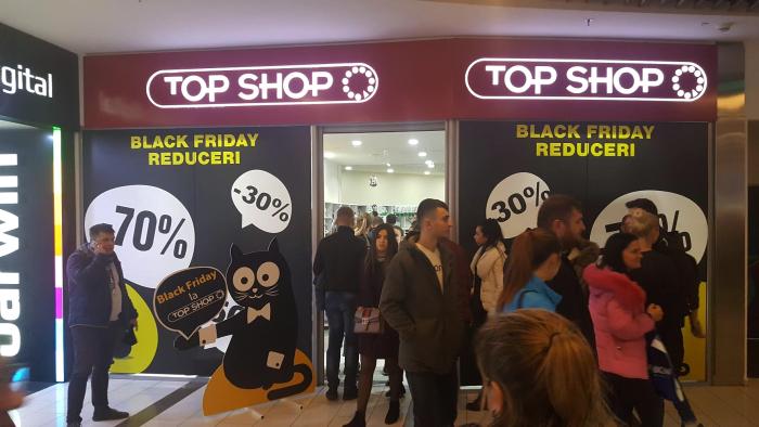 Reduceri de până la -70% la Top Shop de Black Friday! Profită de cele mai bune prețuri ale anului 2017, doar pe data de 24 noiembrie