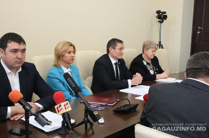 La Comrat are loc ședința Adunării Populare. S-a votat unanim structura noului Comitet Executiv al UTA Găgăuziei