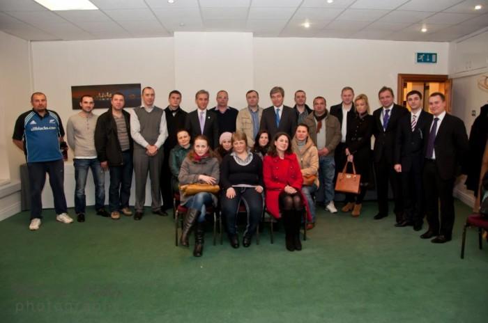 Întâlnire la Dublin între reprezentanții Diasporei și ministrul de externe