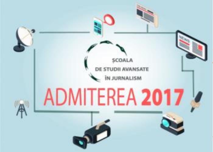 Școala de Studii Avansate în Jurnalism anunță o nouă etapă de înscriere