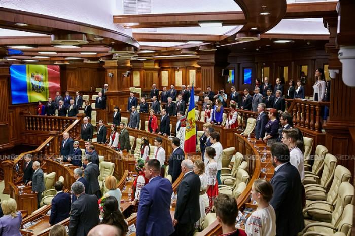 Guvernul condus de Valeriu Streleț va cere joi votul de încredere a Parlamentului