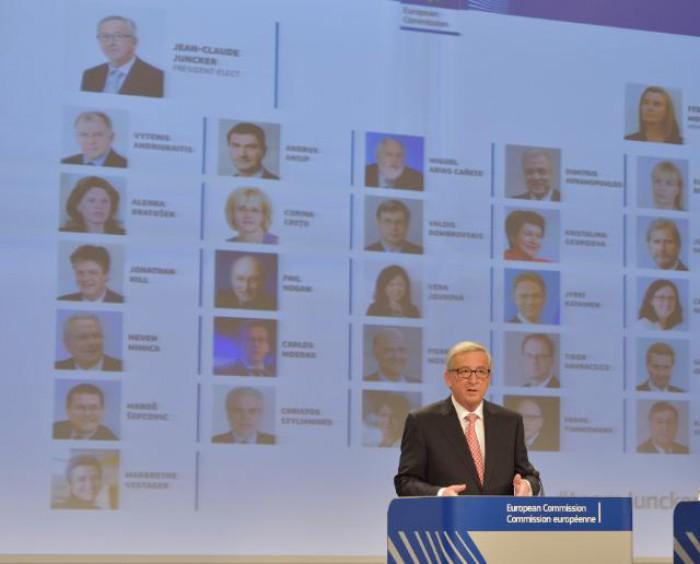 A fost desemnată noua componență a Comisiei Europene