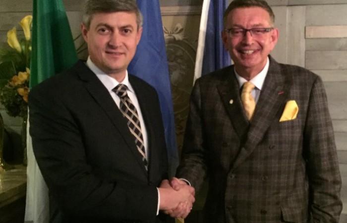 A fost inaugurat primul Consulat onorific al Republicii Moldova în Irlanda