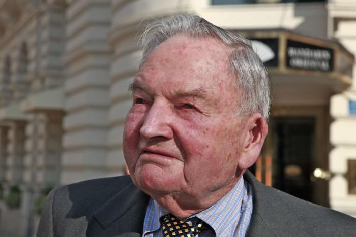 A murit David Rockefeller. Renumitul filantrop avea 101 ani