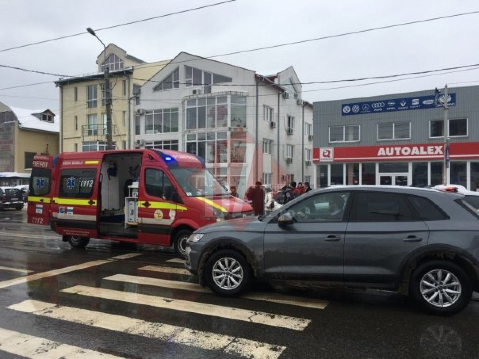 Accident grav cu implicarea unui moldovean, la Iași: A lovit un pieton în timp ce trecea strada regulamentar. Victima s-a ales cu numeroase traumatisme