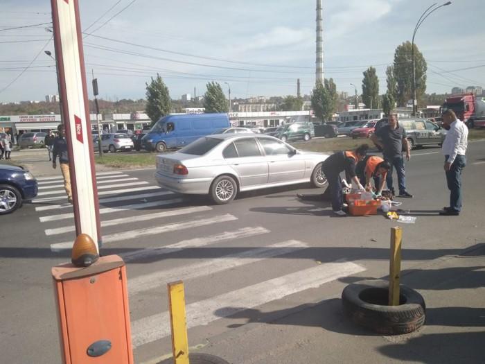 Accident în apropiere de Gara de Nord: O femeie, lovită de un BMW pe trecerea de pietoni