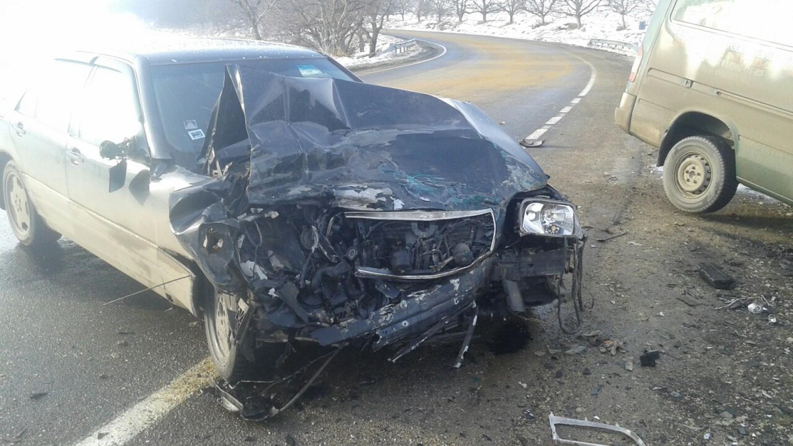 Accident violent în raionul Orhei: Două mașini, grav avariate