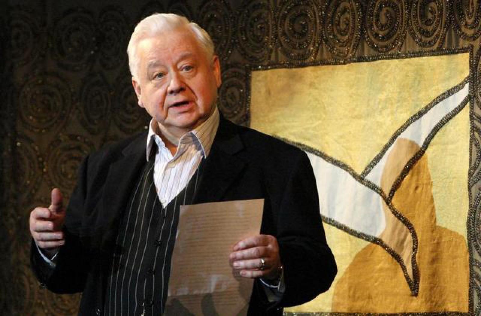 Actorul rus, Oleg Tabakov, care a jucat în filme sovietice celebre, s-a stins din viață la vârsta de 82 de ani