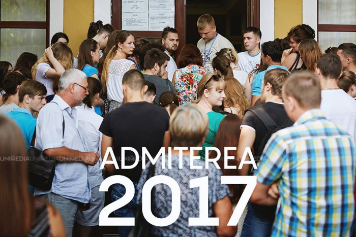 Admiterea 2017: Oferte de studii la Universitatea de Stat din Moldova