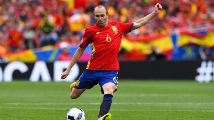 Andres Iniesta s-ar putea retrage de la naționala Spaniei după Cupa Mondială din Rusia