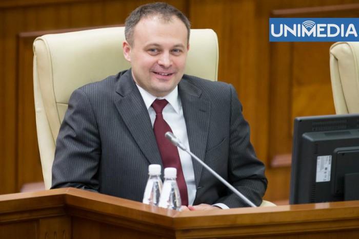 (video) Andrian Candu a fost ales în funcția de președinte al Parlamentului