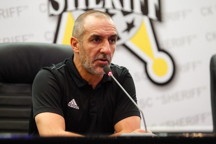 Antrenorul Sheriff-ului, Roberto Bordin, a lipsit de la conferința de presă după meciul cu Zimbru. Italianul a avut motive întemeiate