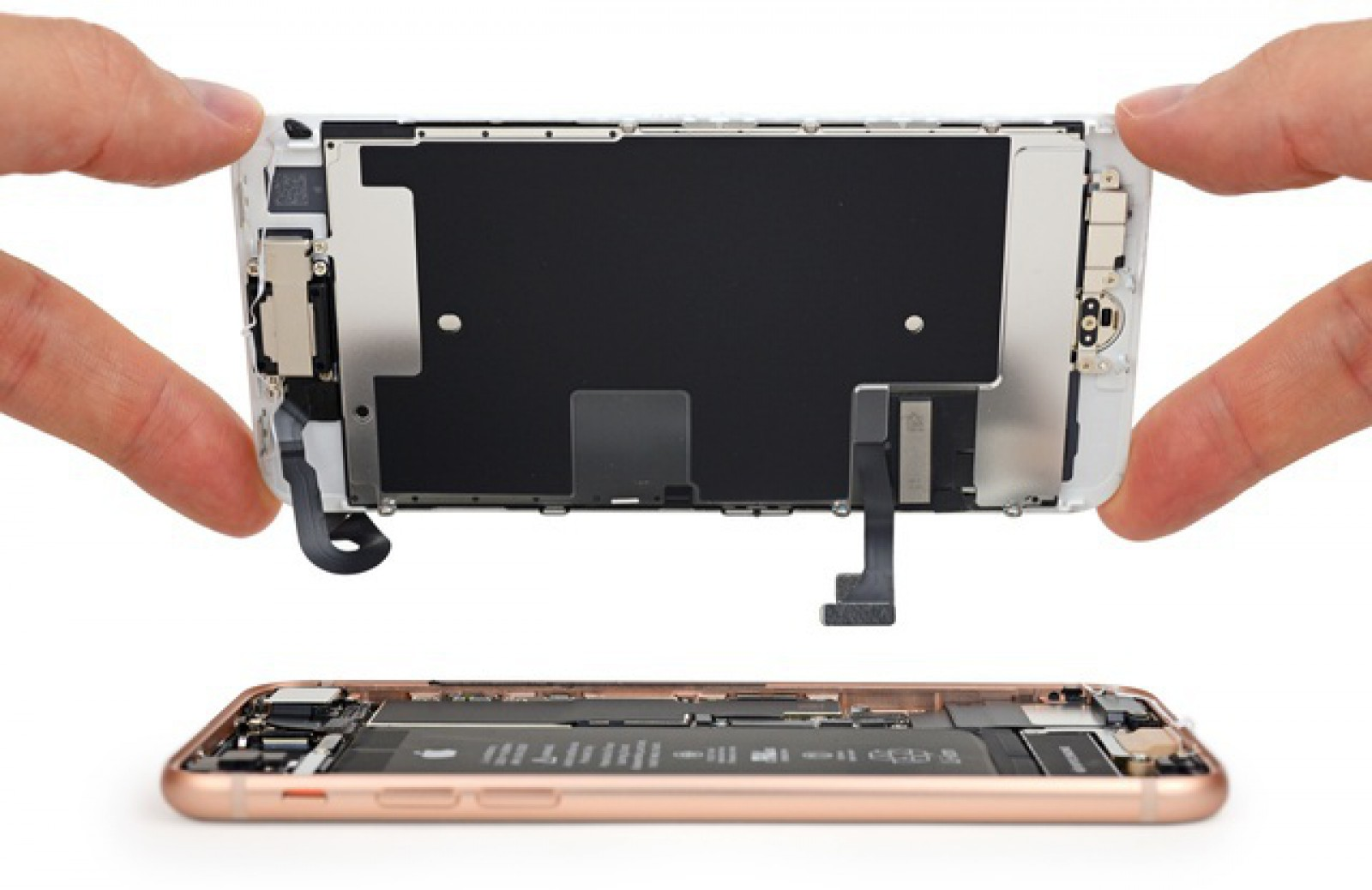 Apple dezactivează funcţii de pe iPhone-urile reparate în service-uri neautorizat printr-un update de iOS