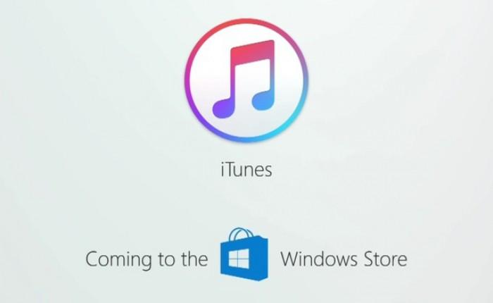 Apple va lansa aplicaţia iTunes şi pe Windows Store