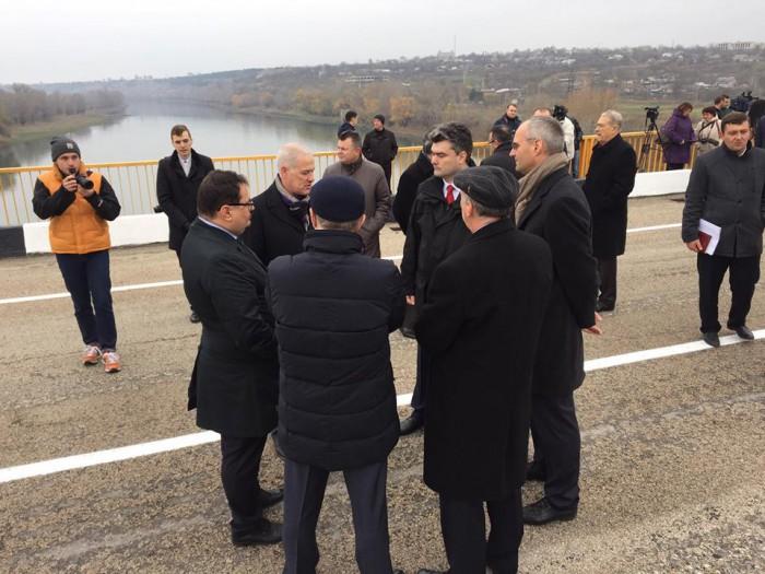 Astăzi s-a deschis podul spre regiunea transnistreană, de la Gura Bâcului – Bâcioc