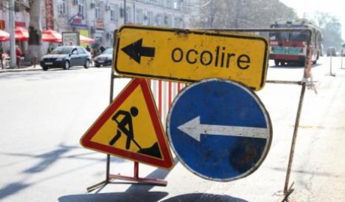 Atenţie, şoferi! Traficul va fi sistat timp de 22 de zile pe o porţiune a străzii Vasile Lupu