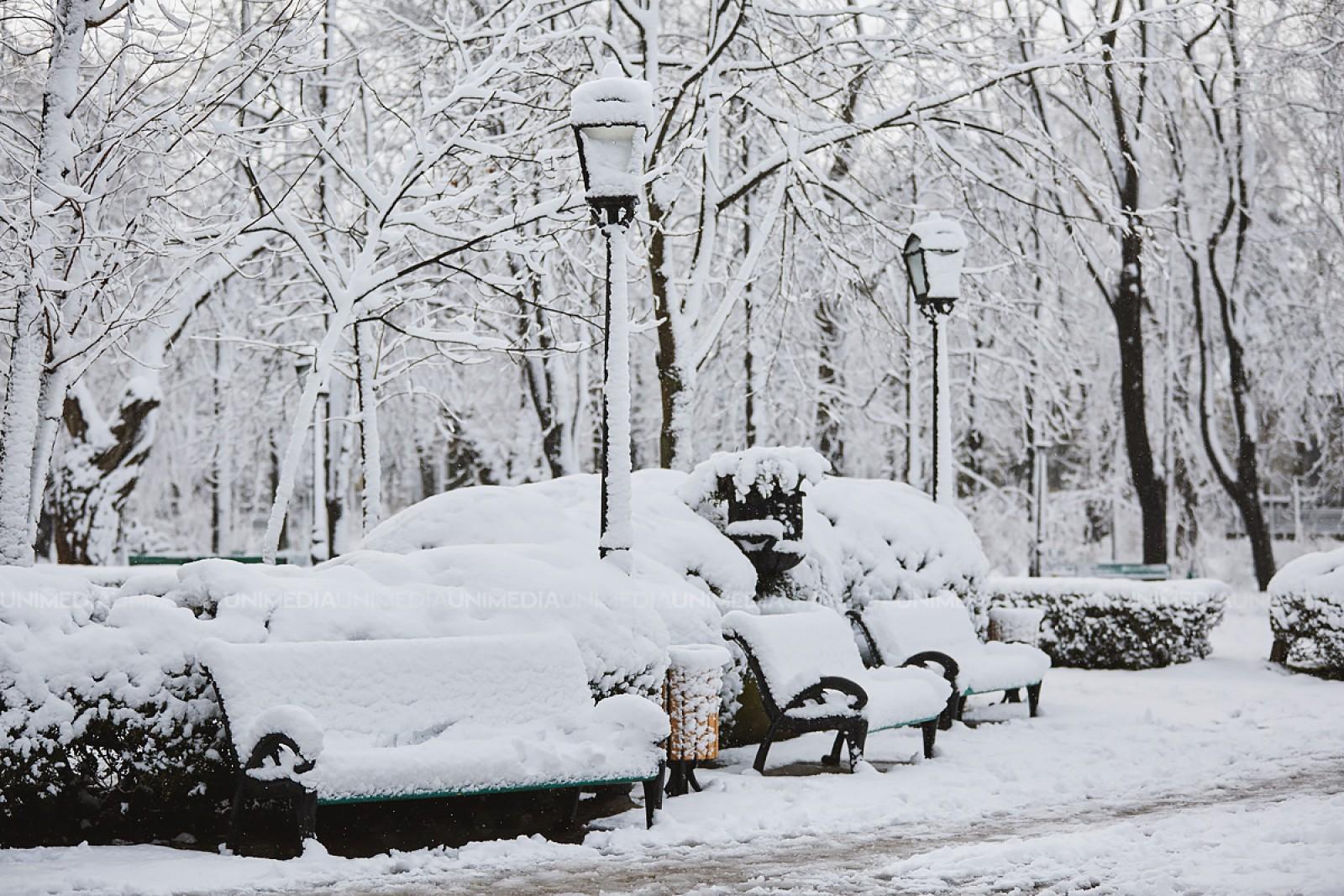 Atenție: Cod galben de ninsori și lapoviță în următoarele zile