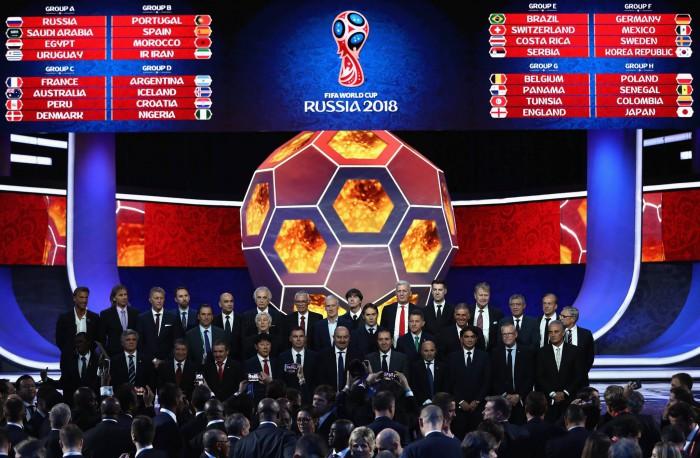 Au fost stabilite grupele Cupei Mondiale 2018. Rusia va juca cu Arabia Saudită în meciul de deschidere