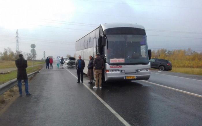 Autobuzul de rută Moscova-Chișinău, implicat într-un grav accident în Rusia soldat cu un deces