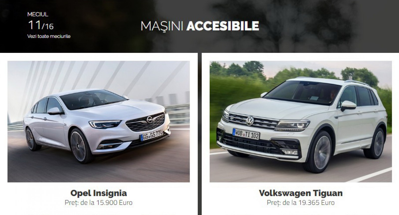 AUTOVOT MOLDOVA 2018! Duelul din runda II: Opel Insignia vs Volkswagen Tiguan!