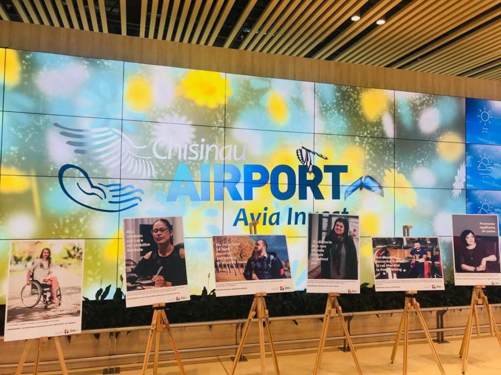 """Avia Invest partener în campania """"Oameni care inspiră"""" desfăşurată la Aeroportul Internaţional Chişinău!"""