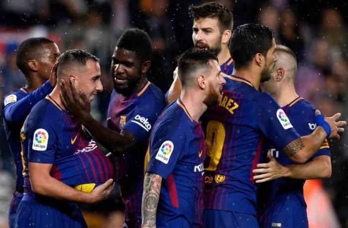 Barcelona 2-1 Sevilla: Paco Alcacer a fost omul meciului pentru catalani, marcând de două ori în poarta Sevilliei