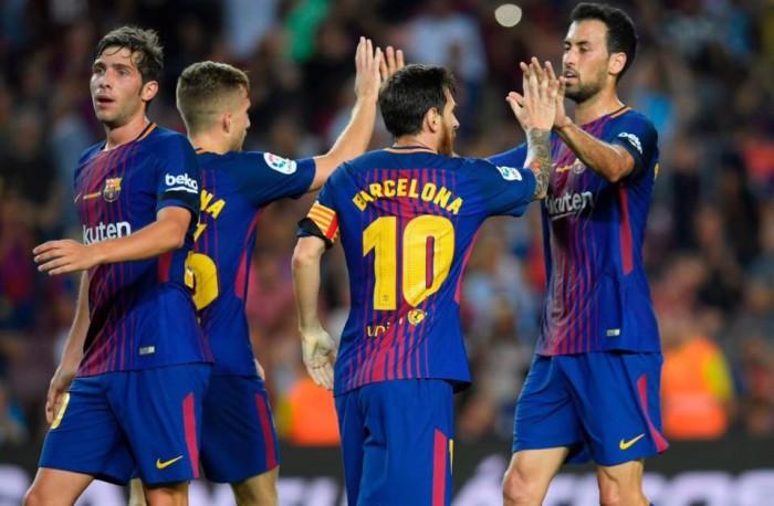 Barcelona s-a descurcat fără Suarez și Iniesta. Catalanii au trecut pe teren propriu de Betis