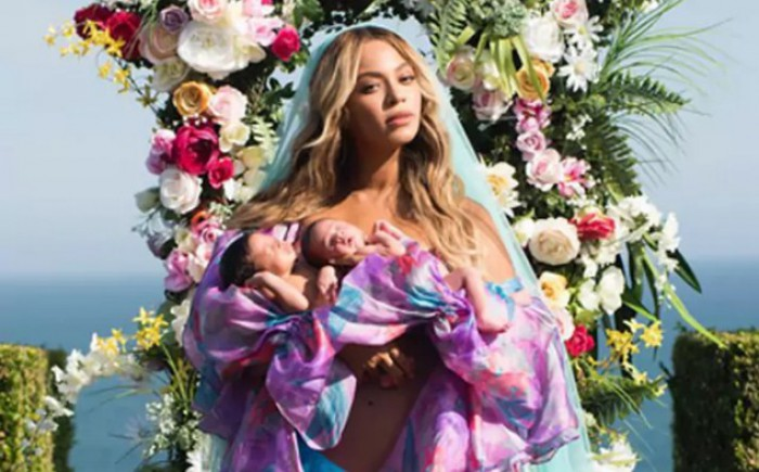 Beyonce a publicat prima fotografie cu gemenii săi. Sir Carter și Rumi au împlinit o lună
