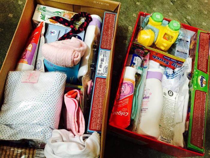 """""""Cadoul din cutia de pantofi"""". Un proiect social care te îndeamnă să aduci bucurie copiilor din familiile social-vulnerabile"""