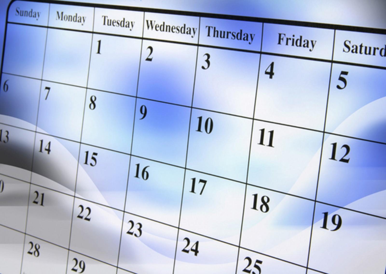 Calendarul zilelor libere din 2018, în care moldovenii vor sta acasă