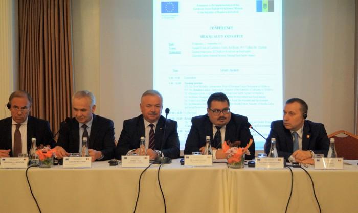 Calitatea și siguranța laptelui și a produselor lactate, asigurate cu suportul UE