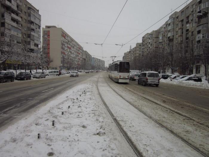 Capitala României pradă a primilor fulgi: Peste 130 de copaci doborâți și 65 de mașini avariate