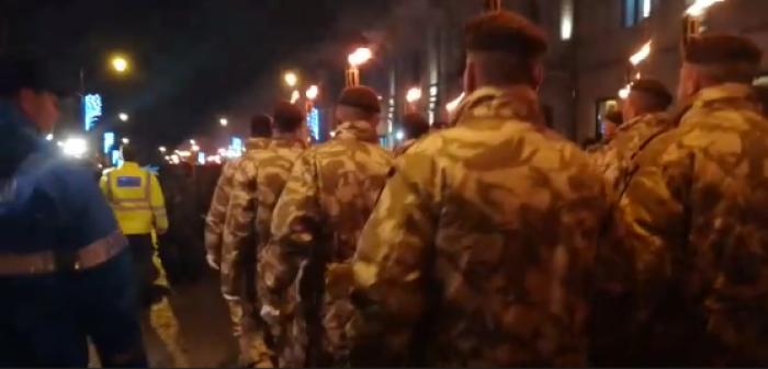 (video) Cel mai spectaculos moment al manifestărilor de la Iaşi dedicate Zilei Naţionale a României