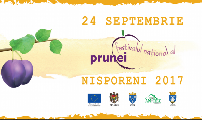 Cele mai gustoase prune, târg de bucate și program cultural la a doua ediție a Festivalului Prunelor