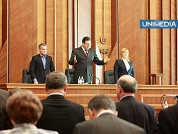 Chiar dacă Lupu cedează președinția, Ghimpu nu cedează șefia Parlamentului