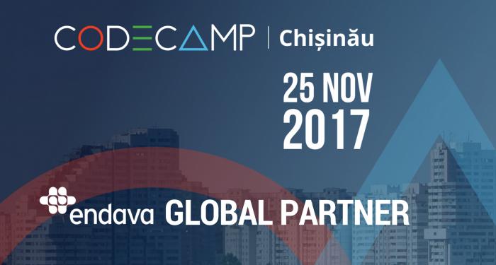 Compania Endava este Global Partner al conferinţei CODE CAMP Chișinău