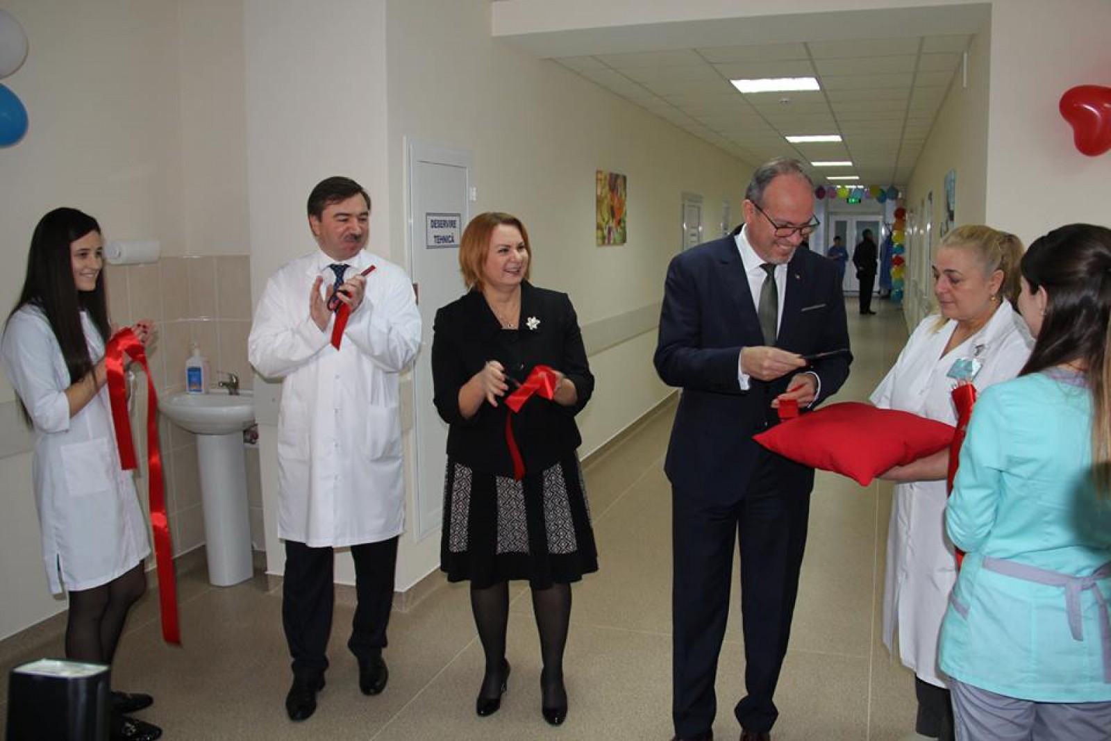 Guvernul României ne ajută din nou: Condiții moderne de examinare și tratament pentru copii cu boli cardiace