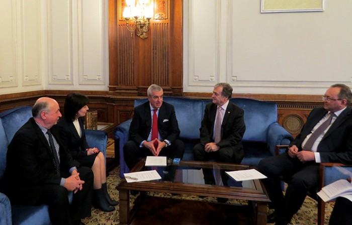 Conducerea PLR s-a întâlnit la București cu președintele Senatului României. Curând va fi semnat un acord de colaborare