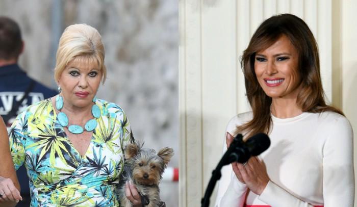"""Conflict între prima doamnă a Statelor Unite și prima soţie a lui Donald Trump. Ivana Trump: """"Eu sunt prima doamnă, bine?""""/ Reacția Melaniei Trump"""
