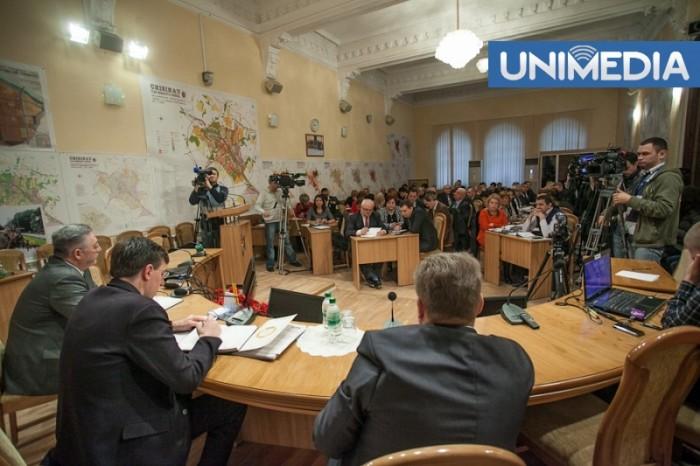 Consilierii municipali au creat comisia pentru inițierea referendumului privind demiterea lui Chirtoacă