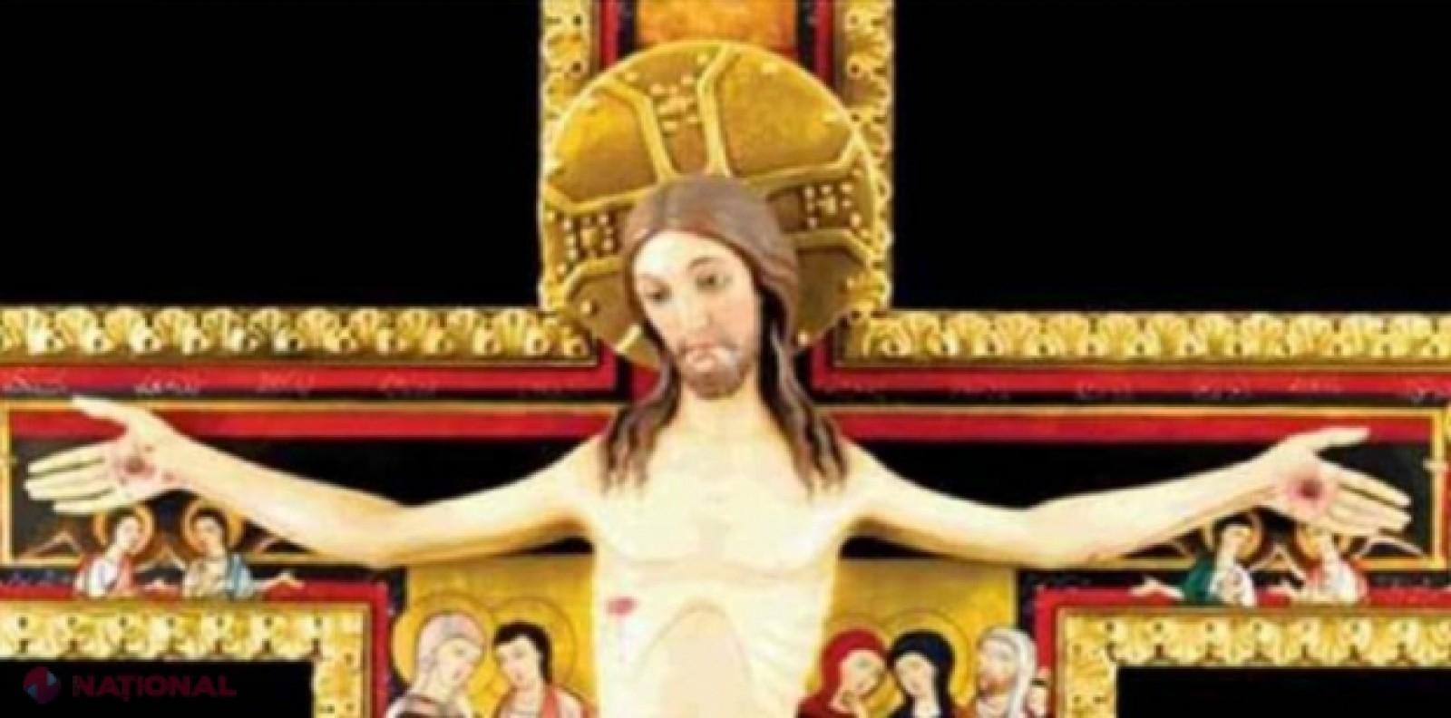 Crucificarea lui Iisus, prea violentă pentru Facebook. Această imagine a fost interzisă