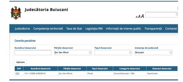 CSJ dă asigurări: Numele părților din dosarele de la Curte nu vor fi scoase de pe portal
