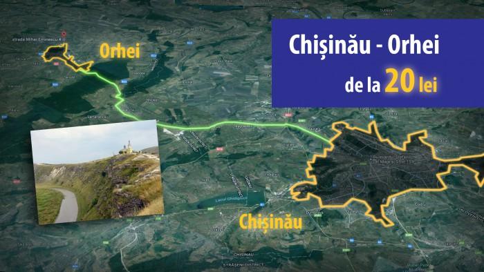 Cum ar fi să parcurgi distanța Chișinău – Bălți și să achiți 40 lei? Sau, poate Chișinău – Iași cu doar 60 lei? Pare imposibil, nu-i așa?