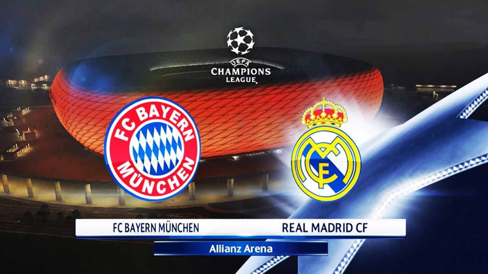 Cum poți câștiga fără să riști nimic, 100 Euro la meciul Bayern - Real Madrid