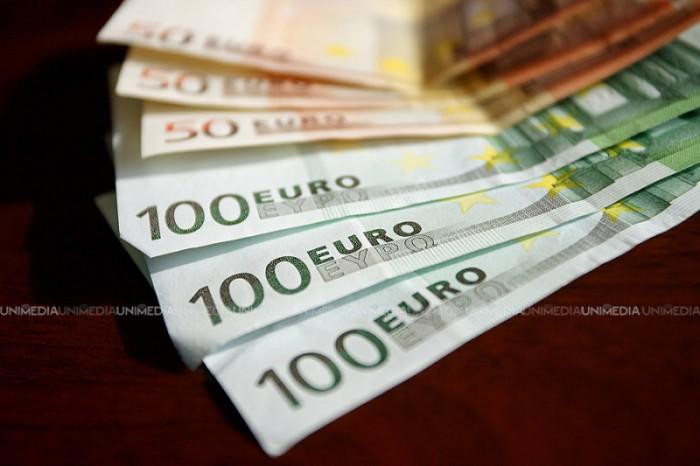 Curs valutar: Leul moldovenesc, în depreciere față de euro