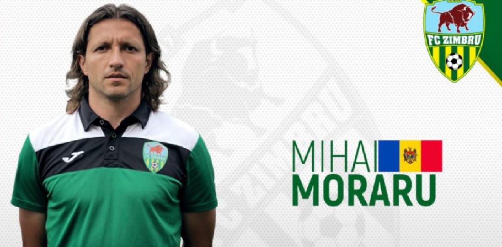 Decizie neașteptată! Mihai Moraru a părăsit echipa Zimbru Chișinău