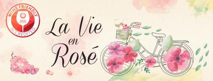 """Degustă vinuri rosé, vezi viața în roz și devino """"Wine Friendly""""! Oaspeții vor fi invitați să poarte elemente în nuanțe de roz"""